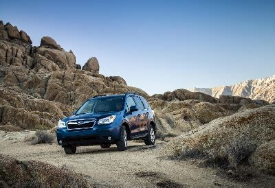 subaru forester scores second motor trend sport/utility of
