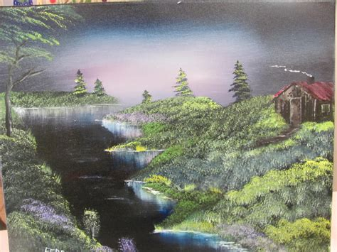 bob ross painting instructor course bob ross painting class bold