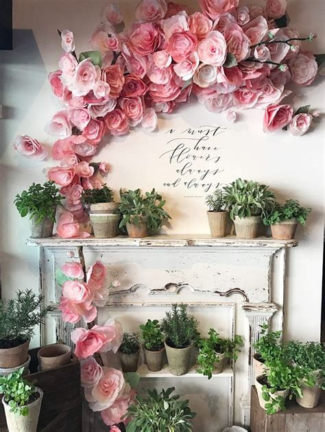 flower decor best 25 diy wall flowers ideas on