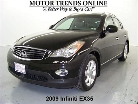 how it works cars 2009 infiniti ex navigation system buy used awd journey navigation rearcam around view roof htd seats 2009 infiniti ex35 41k in