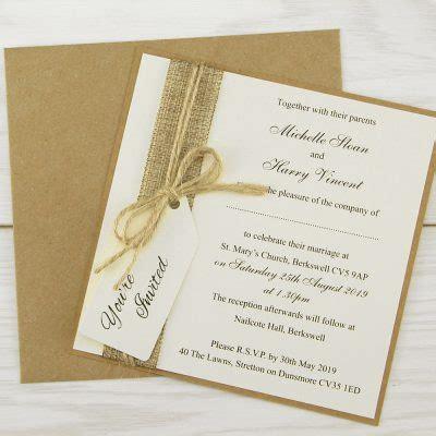 rustic themed wedding invitations free sles invitation wedding invites