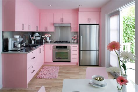 pink kitchen ideas pink kitchen decorating ideas in elegant style
