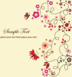 free vector floral greeting card free vector in encapsulated postscript eps eps vector