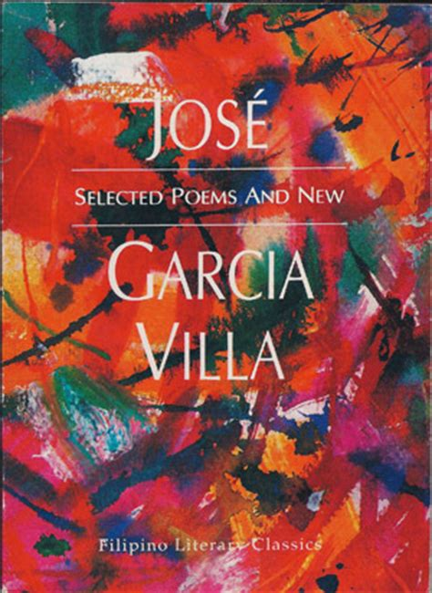 story themes of jose garcia villa selected poems and new by jose garcia villa