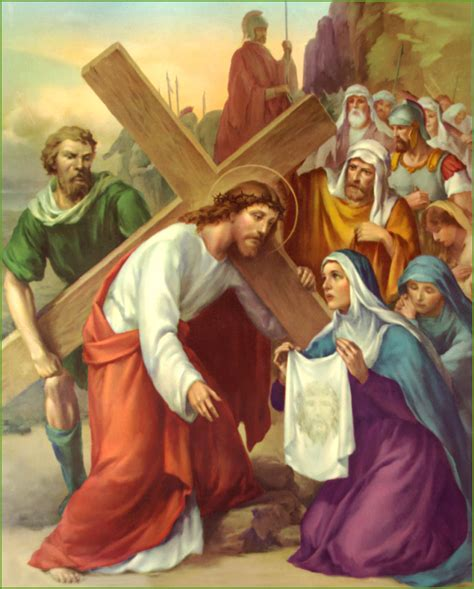 La Qweena Wajah the stations of the cross in pictures