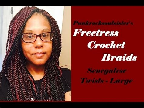 manual for installing croch senegales my crochet braid install experience freetress senegalese