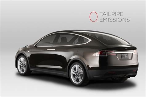 Tesla Modell X Tesla Model X Prototype Revealed Pictures W
