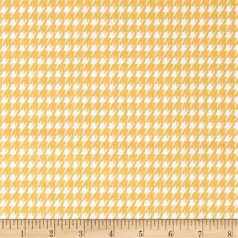 yellow and white upholstery fabric premier prints houndstooth twill corn yellow white