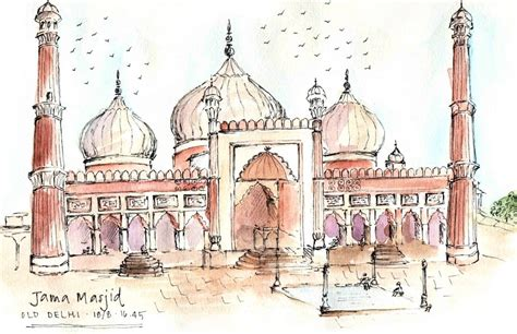 Room Sketch sketching the subcontinent
