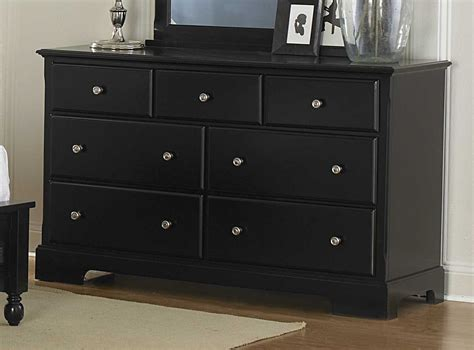 Black Dresser by Homelegance Morelle Dresser Black 1356bk 5
