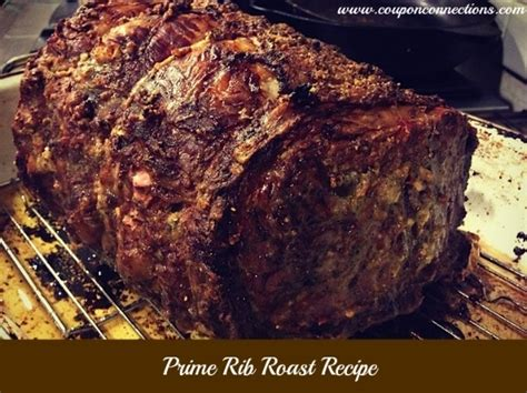 the best prime rib recipe big green egg pinterest