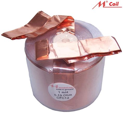 large inductor large air inductor 28 images mundorf air copper foil coils cfc range hifi collective om
