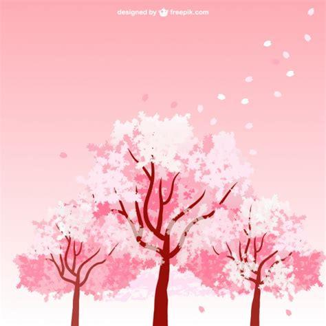 new year blossom tree vector cherry blossom trees vector free