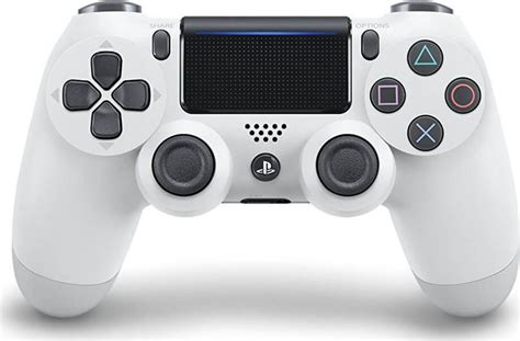 New Dualshock 4 Glacier White by Sony Dualshock 4 Controller Glacier White New Skroutz Gr