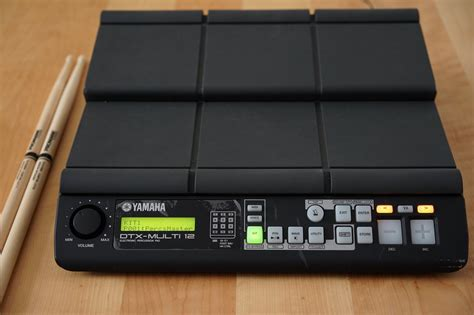 Yamaha Multi 12 test yamaha dtx multi 12 digital percussion pad amazona de