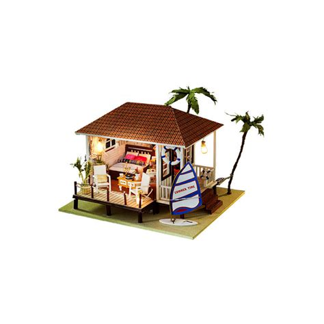 dolls house for children funny miniature dollhouse furniture diy house toys for children new style wooden doll