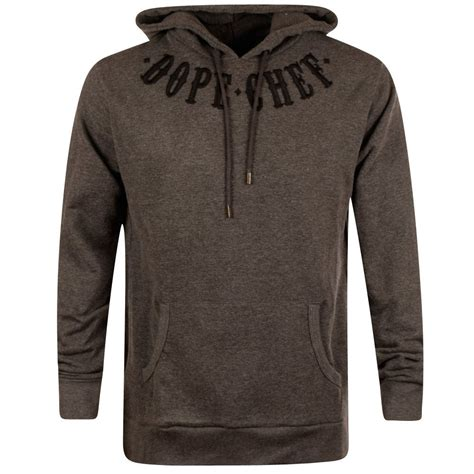 Hoodie Dope Navy Cloth dope chef dope chef charcoal pullover hoodie from brother2brother uk