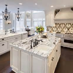 beautiful white springs granite for luxury kitchen home