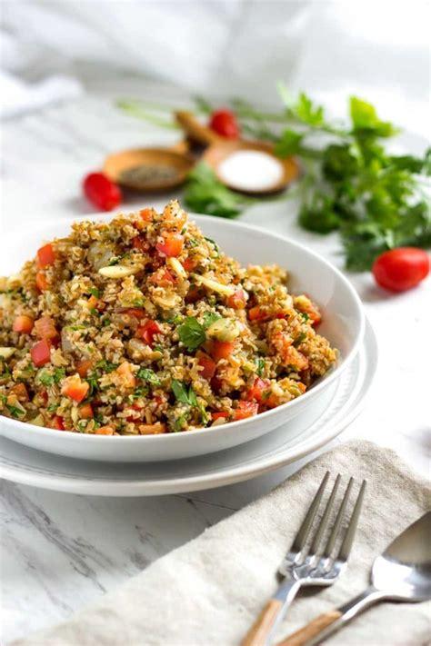 bulgur yemek and thin mints on pinterest orange bulgur wheat salad keviniscooking com