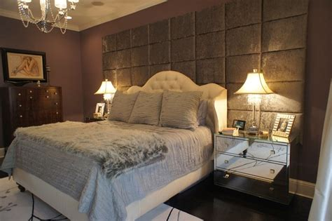 padded walls for bedrooms wall of upholstered panels traditional bedroom