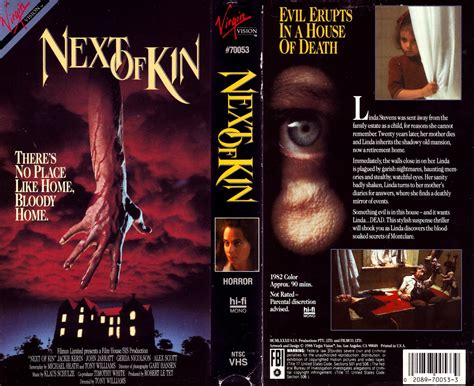 next of kin next door how to find sasquatch a s throw away books vhs cover scans next of kin 1982