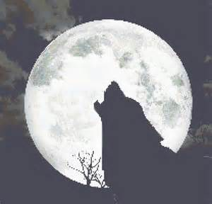 counted cross stitch pattern wolf howling at full moon pdf