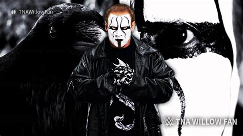 theme song sting wwe sting theme song quot out from the shadows quot 2015 ᴴᴰ v2