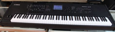 Keyboard Yamaha Motif Xf8 yamaha motif xf8 88 key keyboard synthesizer used yamaha