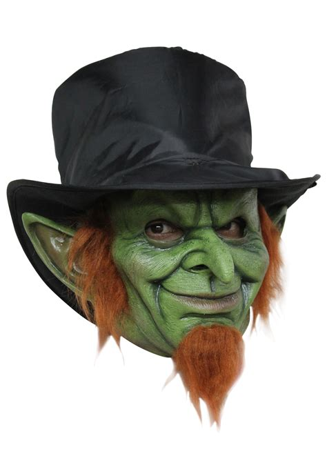 mad for mad goblin mask scary leprechaun mask