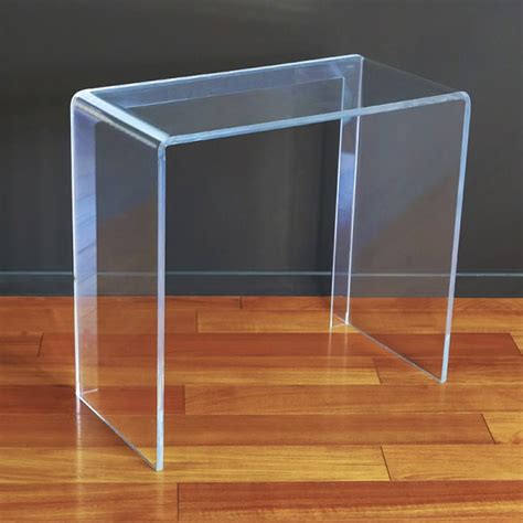 acrylic console table for living rooms design shop