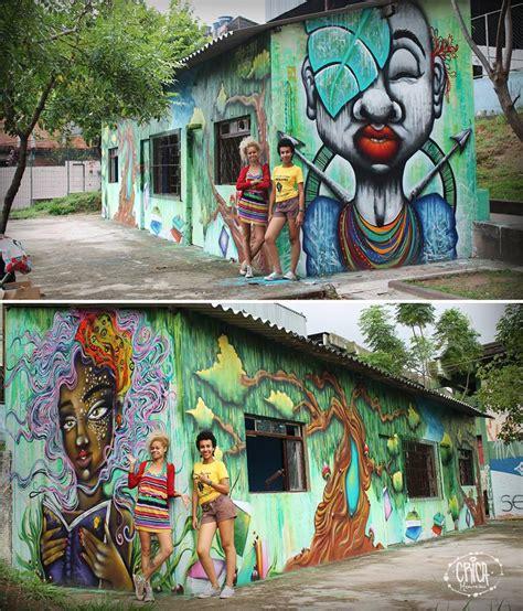 aritsta crica monteiro  seus graffiti arte sem fronteiras