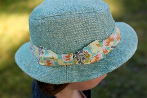 sewing pattern hat free kids fedora hat sewing pattern review the cottage mama