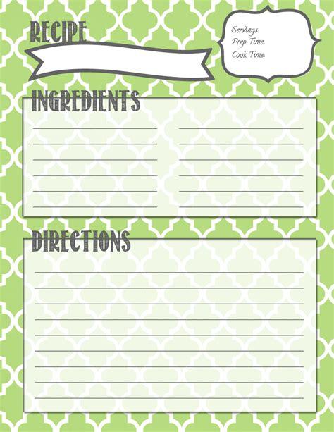 free printable vegetarian recipes making it in the mitten recipe binder printables