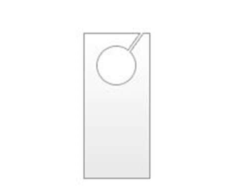 Printable Rounded Doorhanger Free For Pdf Fee For Editable Word Version Many Other Papers At Editable Door Hanger Template