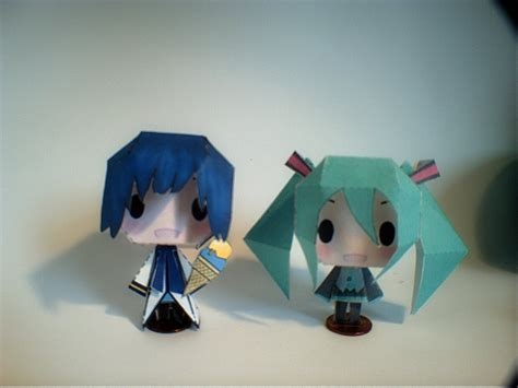Kaito Papercraft - vocaloid papercraft miku and kaito by vocaloid9110 on