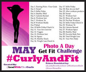 fitness challenge prize ideas may photo a day curlyandfit weight loss challenge prizes