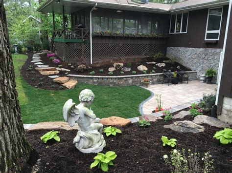 renovate backyard backyard terraced renovation serenity creek design