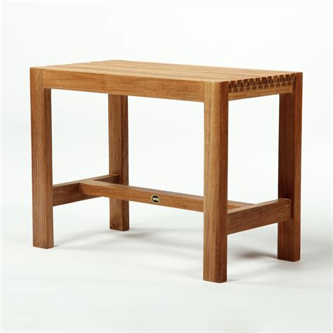 Teak Shower Benches arb teak specialties ben53 teak shower bench atg stores