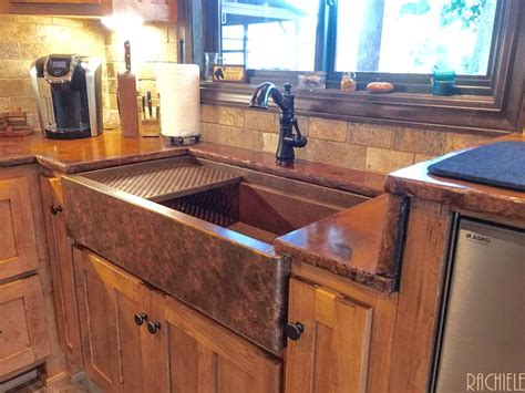 how to patina copper sink copper farmhouse apron sink copper patina finish options