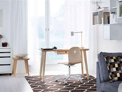 Ikea Runnen Dek Lantai Luar Ruang ruang kerja meja stesen kerja kerusi pejabat lagi ikea