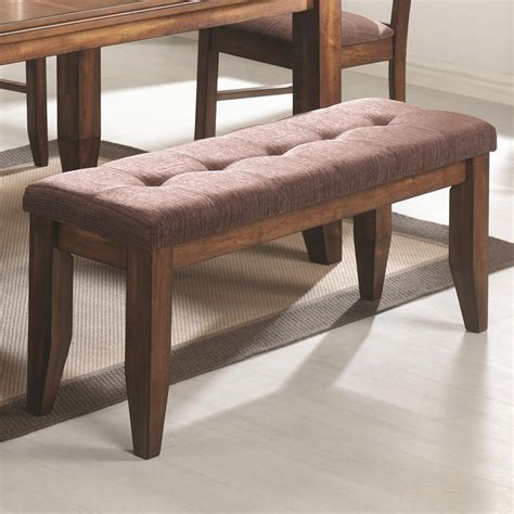 oak dining benches coaster page 102733 brown wood dining bench in los angeles ca