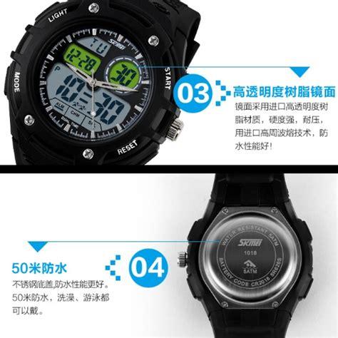 Skmei Sport Led Water Resistant 50m Dg1219 Black Gr T30 3 skmei casio sport led water resistant 50m ad1018 black jakartanotebook