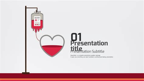 Blood Donation By Pello1103 Graphicriver Blood Donation Ppt Template Free