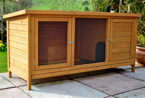 The Hutch The Summerhouse 5ft Rabbit Hutch Single Storey Outdoor