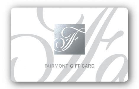Fairmont Hotel Gift Card - fairmont hotels gift cards bulk fulfillment order online