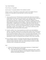 Persuasive Essay On Wearing School Uniforms by School Persuasive Speech