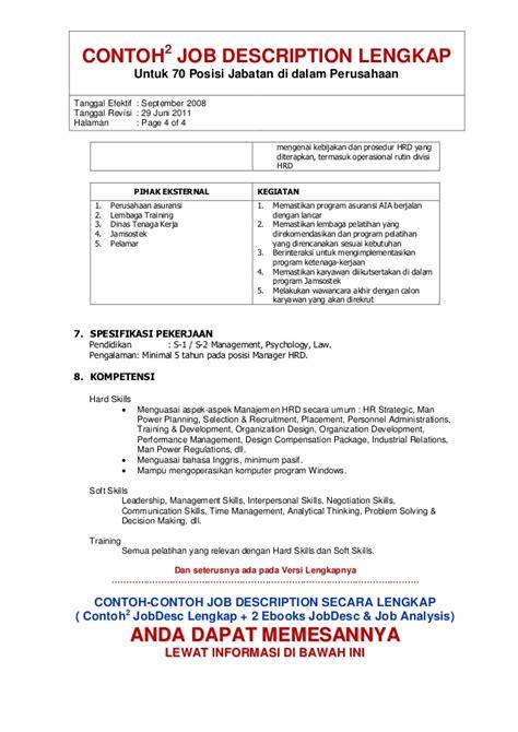 format cv kaskus contoh job description manager operasional obtenez livre