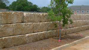how to build a dry stack big block retaining wall