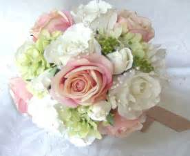 silk bridal bouquet wedding bouquets and boutonnieres 7 set silk bridal