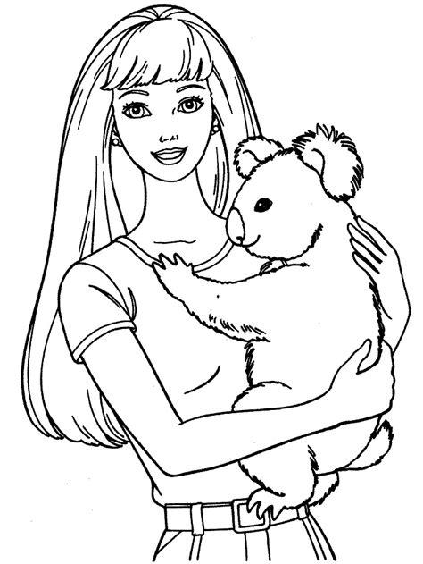 dibujos de draculaura para colorear en colorear barbie 21 dibujo de barbie para imprimir